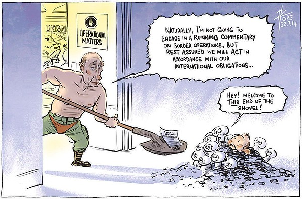 Pope, Canberra Times 22 Jul 2014