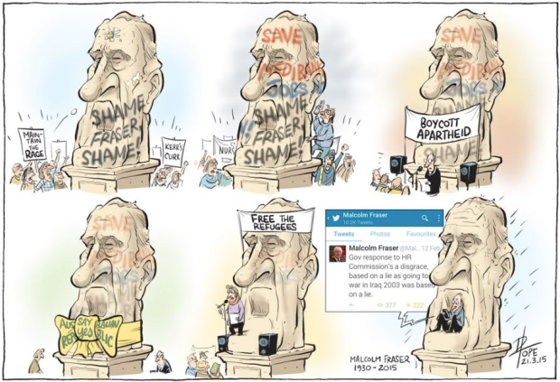 Pope, Canberra Times 21 Mar 2015